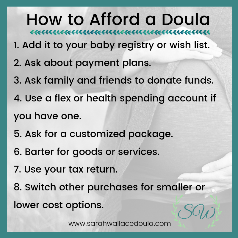 how to afford a doula