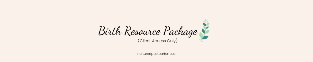 birth resource package